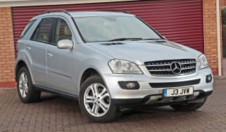 Used Mercedes M-Class - front