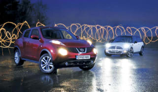 Nissan Juke vs. MINI Clubman