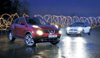 Nissan Juke vs. MINI Clubman