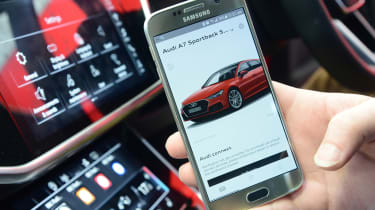 Audi A7 long-term test - myAudi