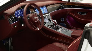 Bentley Continental GTC - studio cabin