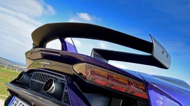 Lamborghini Aventador SVJ - rear wing
