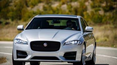 Jaguar XF R-Sport cornering