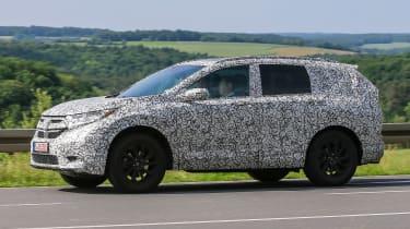 Honda CR-V - spy shots - side