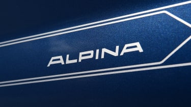 Alpina XD3 - Alpina branding