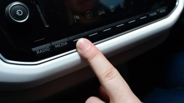 Volkswagen up! - long termer first report controls