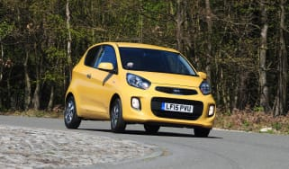 Kia Picanto SR7 2015 action