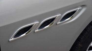 Maserati Quattroporte 2014 vents