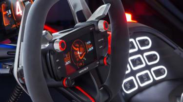 Hyundai RN30 Concept - steering wheel