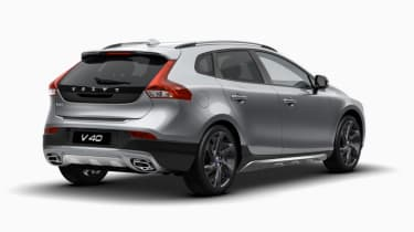 Car configurator overkill - Volvo V40 Cross Country