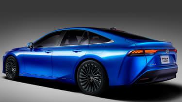 Toyota Mirai Concept - rear