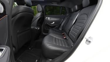 Mercedes EQC - rear seats