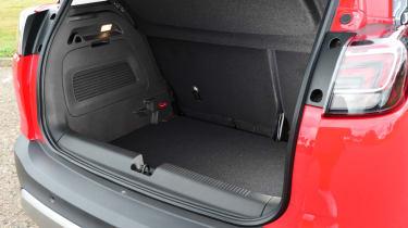 Vauxhall Crossland X - boot
