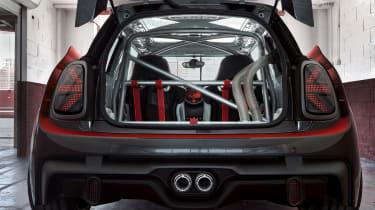 MINI JCW GP1 Concept - rear inside