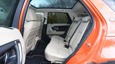 Land Rover Discovery Sport long-term - rear seats