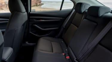 Mazda 3 saloon - rear seats