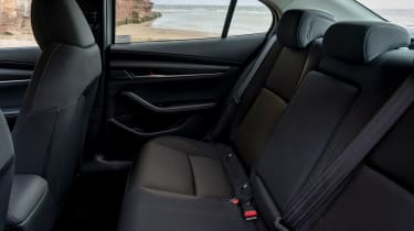 Mazda 3 saloon - rear seats