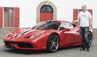 Ferrari 458 Speciale video review