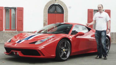 Ferrari 458 Speciale video review