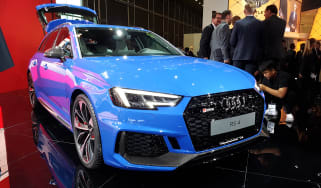 Audi RS4 Avant - Frankfurt front