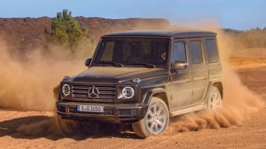 Mercedes G-Class - off-road action