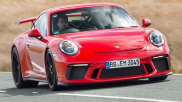 Best track day cars - Porsche 911 GT3