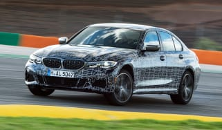 BMW M340i xDrive prototype - front