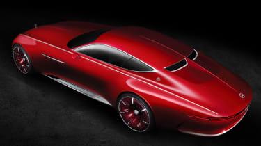Mercedes-Maybach 6 concept coupe - studio ovearhead
