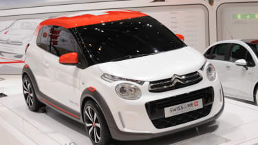 Citroen's has done a great job at making the design fun, fresh and different from its sister cars.