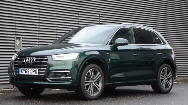 Audi Q5 PHEV long-termer - first report front static