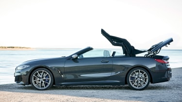 BMW 8 Series Convertible - side roof closing