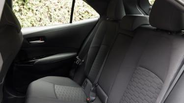Toyota Corolla - back seats