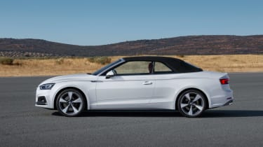 New Audi A5 Cabriolet 2017 roof up