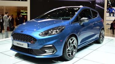 Ford Fiesta ST Geneva show - front