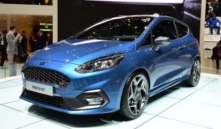 Ford Fiesta ST Geneva show - front