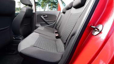 Volkswagen Polo - rear seats
