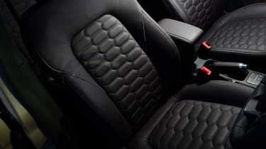 Ford Fiesta Vignale front seat