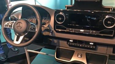 New Mercedes Sprinter - dashboard