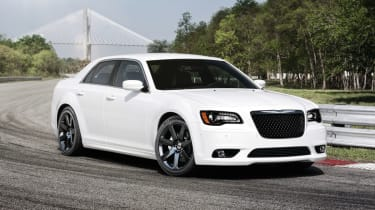 Chrysler 300C SRT8 front cornering