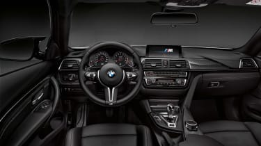 BMW M4 Competition Pack interior
