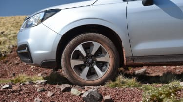 Subaru Forester - wheel