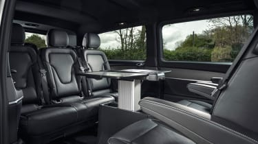 Mercedes V-Class - rear cabin