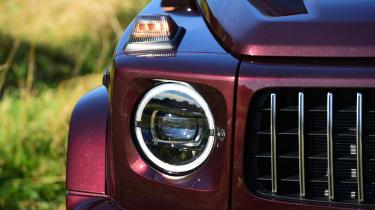 Mercedes G-Class - front light