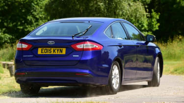 Ford Mondeo - rear blue