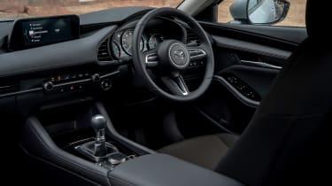 Mazda 3 saloon - interior