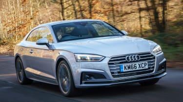 Audi A5 - front action
