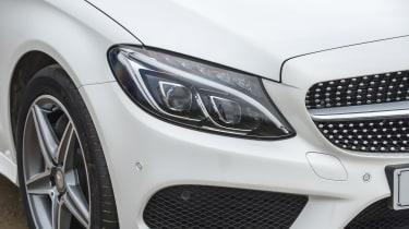 Mercedes C-Class Coupe - front detail