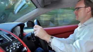 New Aston Martin DB9 interior