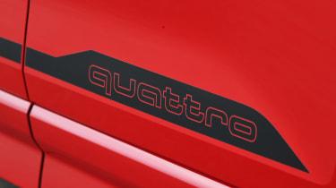 Audi SQ2 - quattro badge