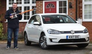 Volkswagen e-Golf long-term review header